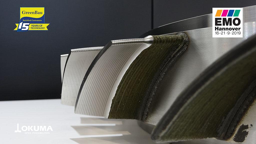 LMD - Laser Metal Deposit - Okuma - prelucrat prin frezare