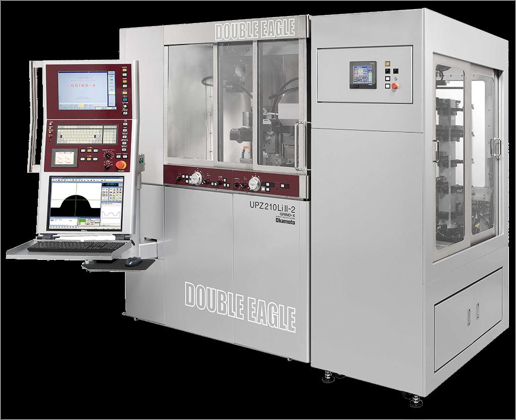 Okamoto - UPZ 210 Li/LiII - Mașină CNC de rectificat profil rapidă cu acționare liniară