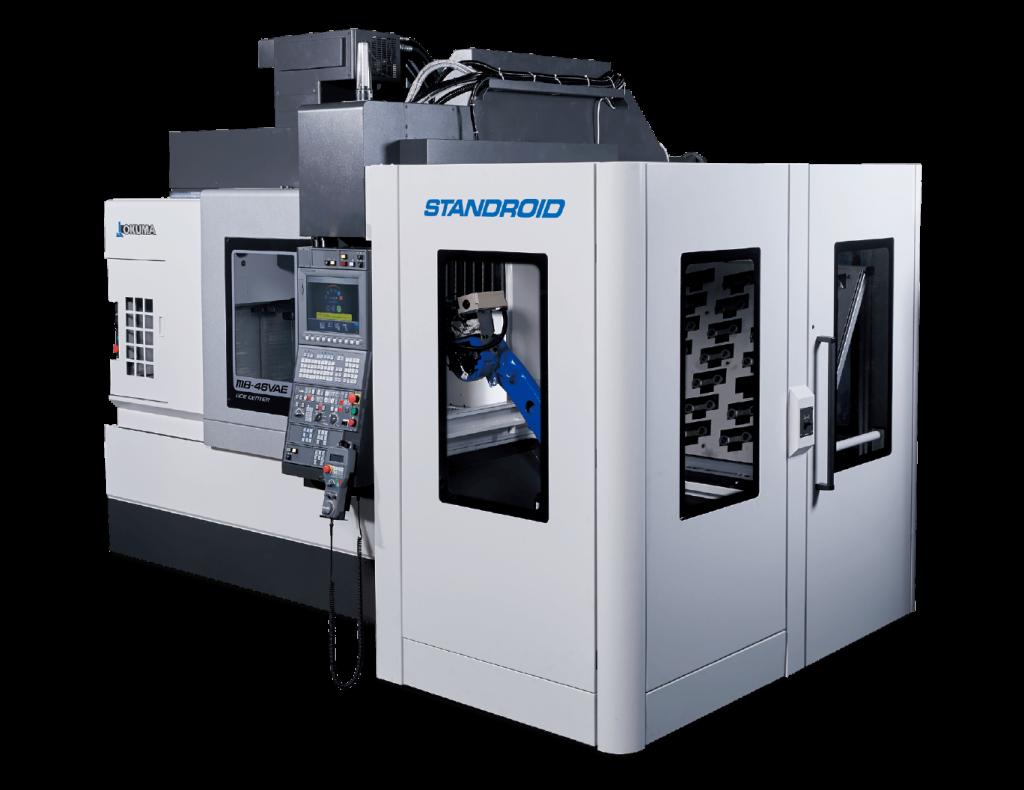 Automatizări CNC Okuma - STANDROID