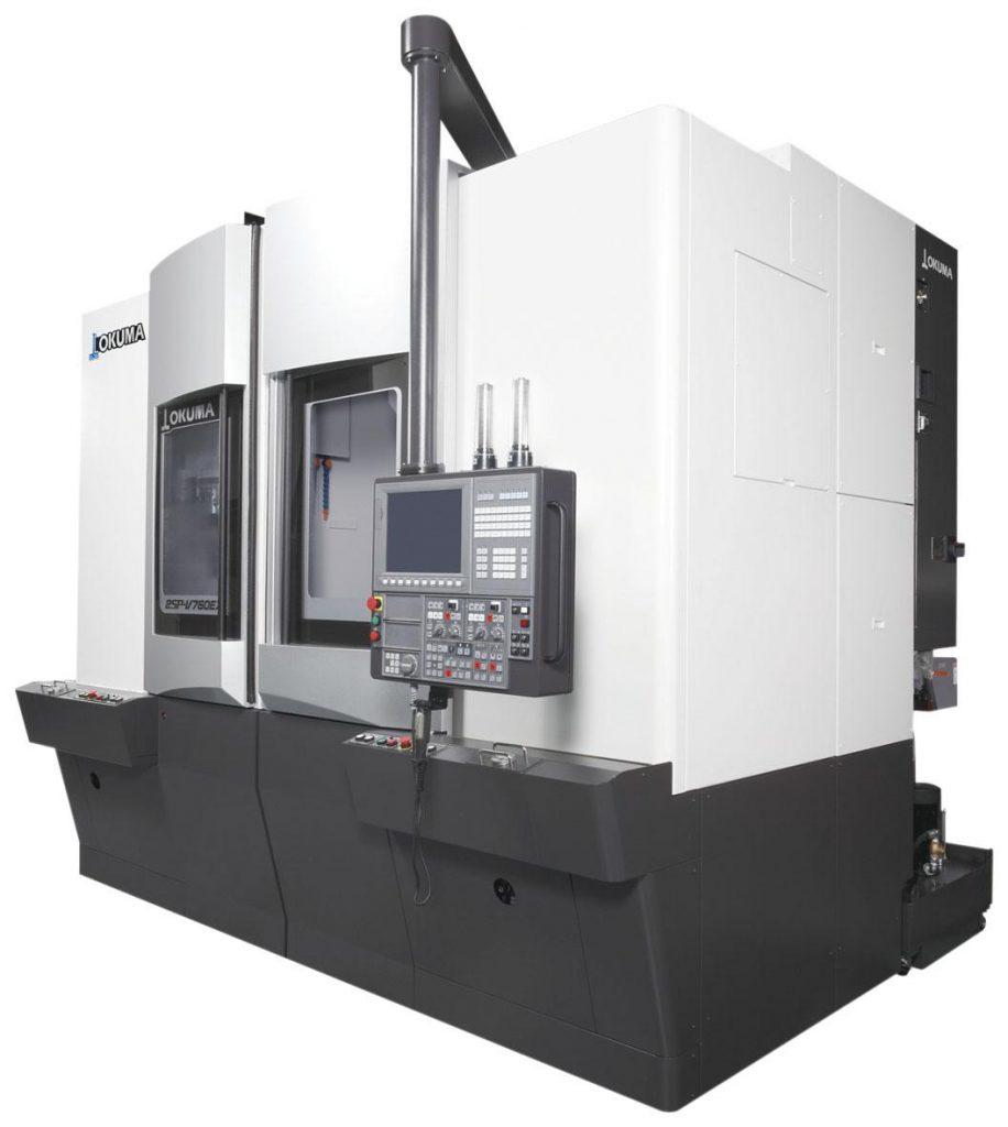 strunguri CNC vertical Okuma - Seria 2SP-V