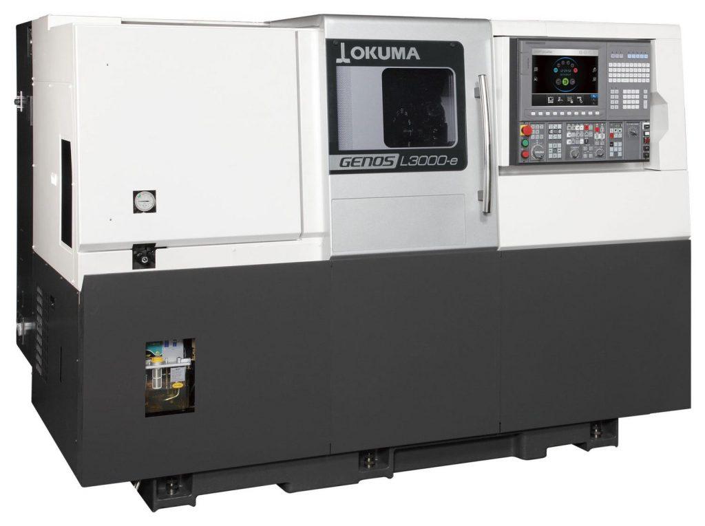 Strung CNC Okuma GENOS Seria L3000-e