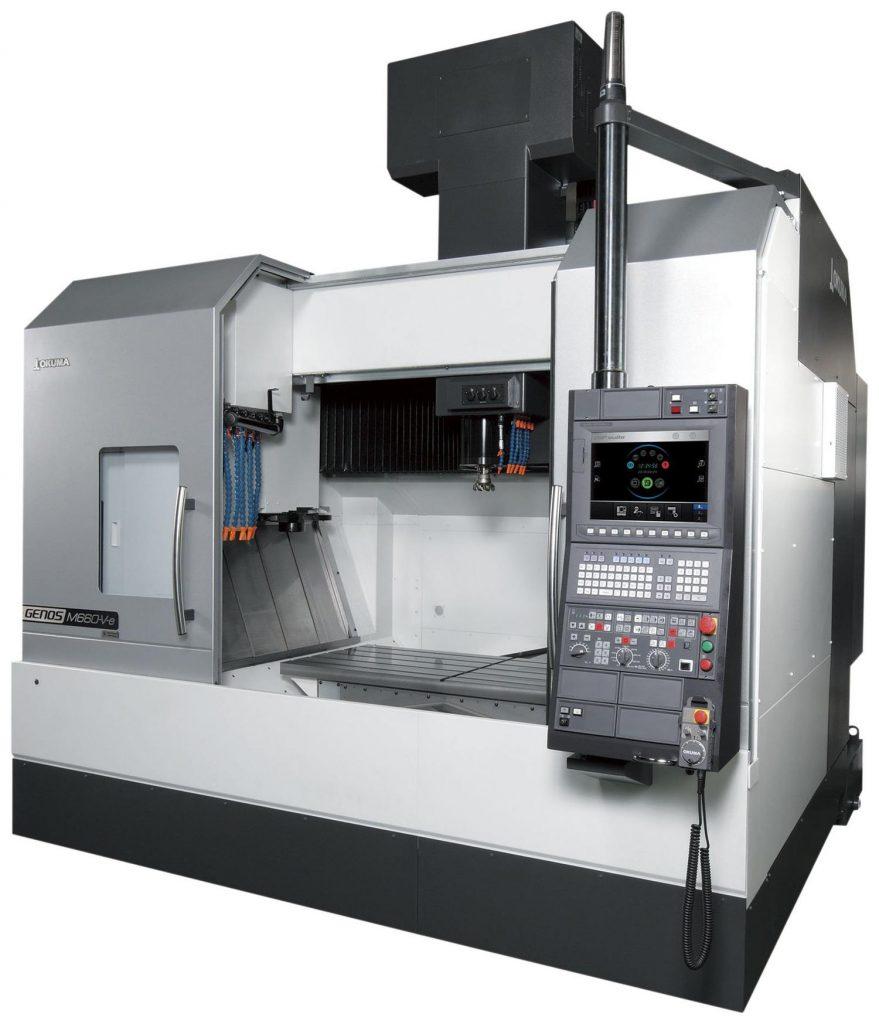 centre de prelucrare CNC verticale - Seria GENOS M-V