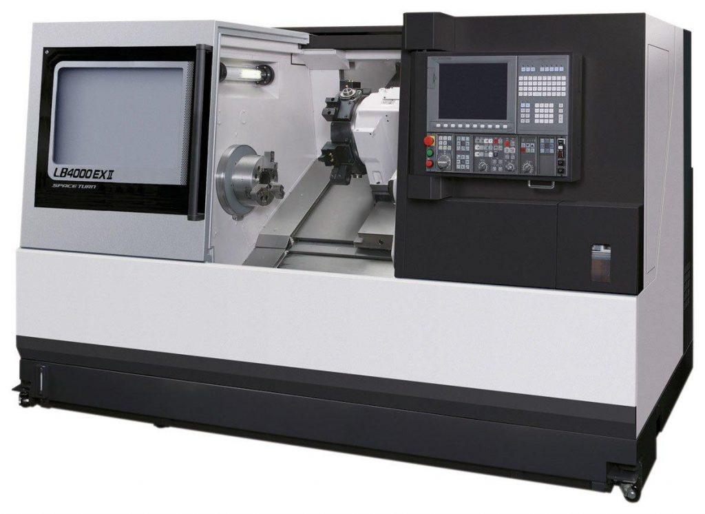 strung CNC cu axa y - Okuma LB4000 EXII