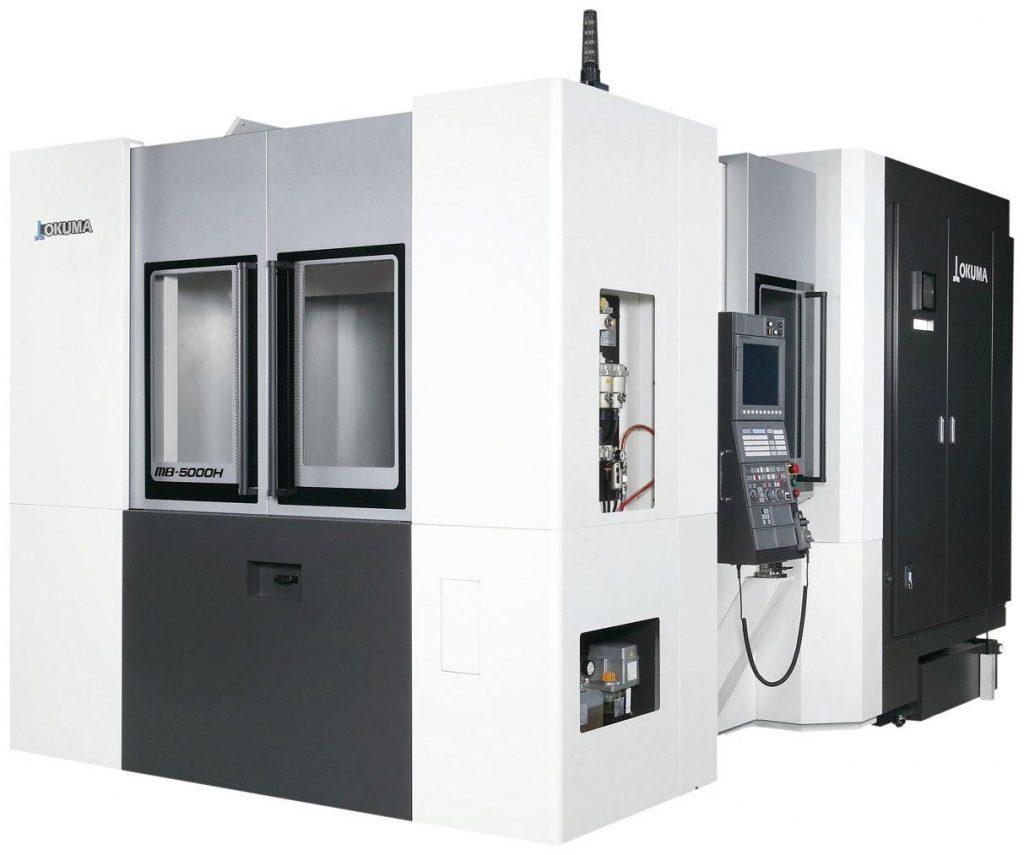 centre prelucrare CNC orizontale - Okuma Seria MB-H
