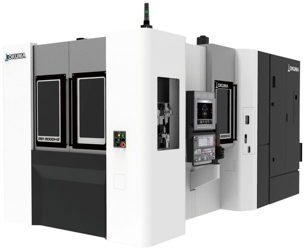 centru prelucrare CNC orizontal - Okuma MB-5000 HII