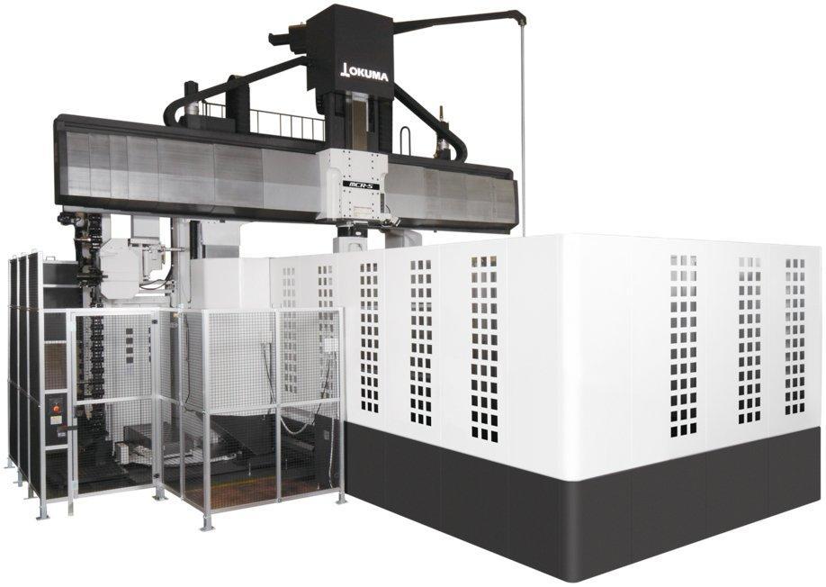 Centre de prelucrare CNC dublă coloană - Okuma Seria MCR-S