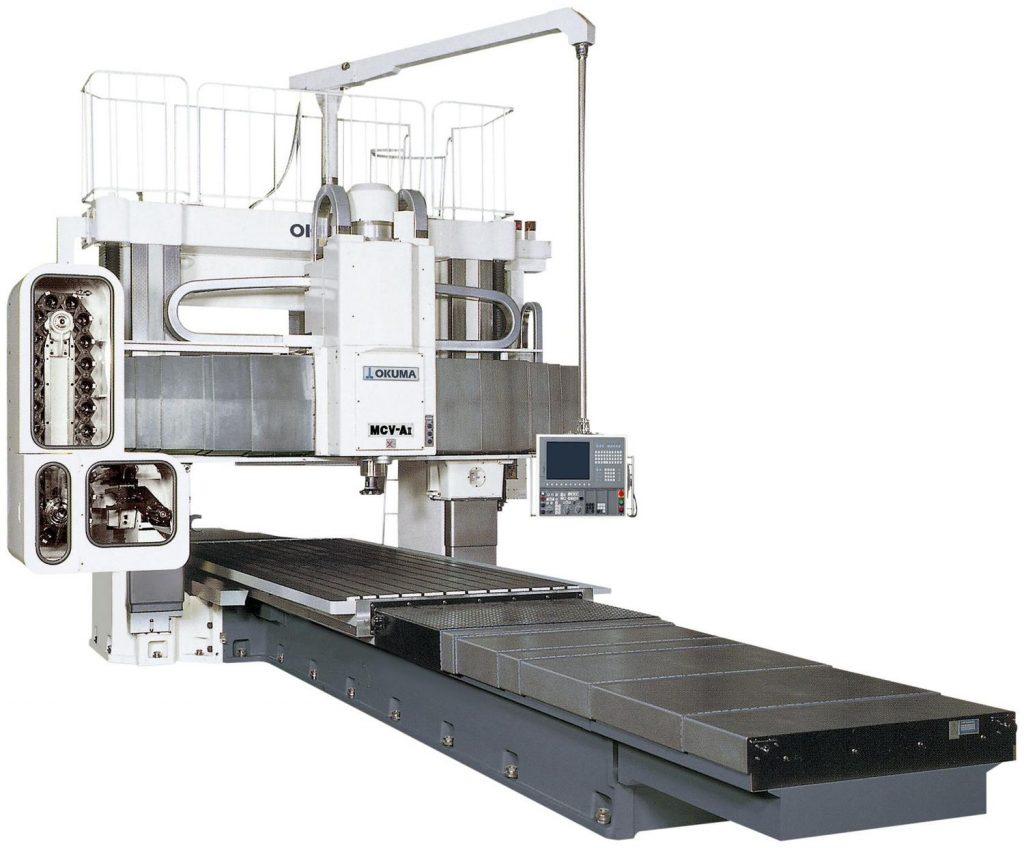 Centre de prelucrare CNC dublă coloană - Okuma Seria MCV-AII