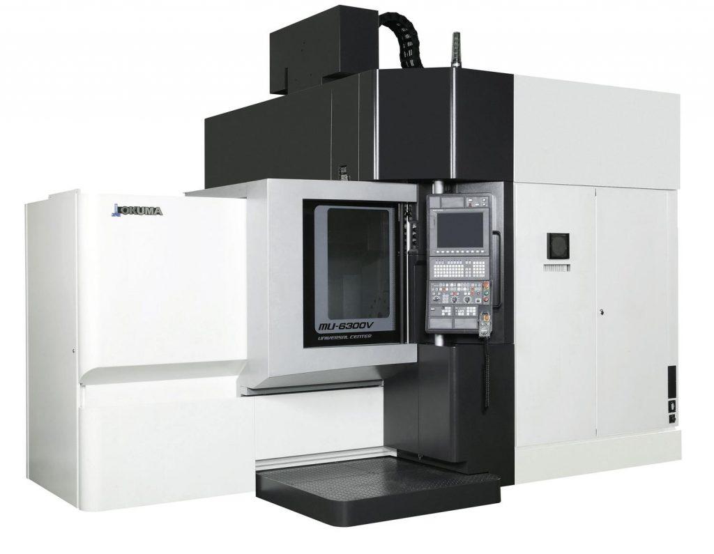 Centru vertical Okuma MU-6300V