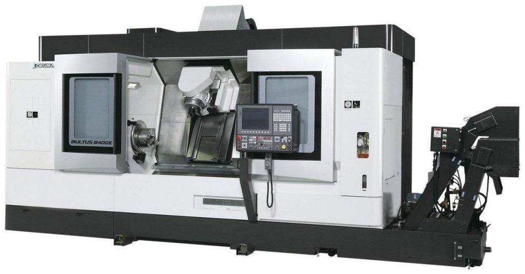 Strung multifuncțional CNC Okuma Multus B400II