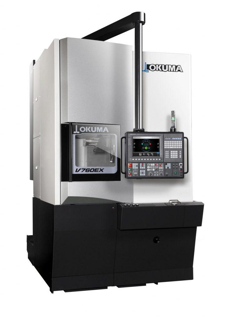 Strung Vertical Okuma V760 EX