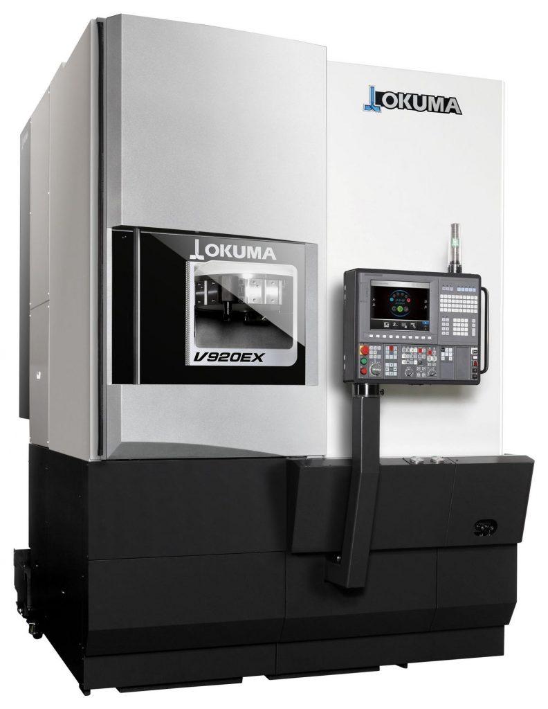 Strung CNC vertical Okuma V920EX