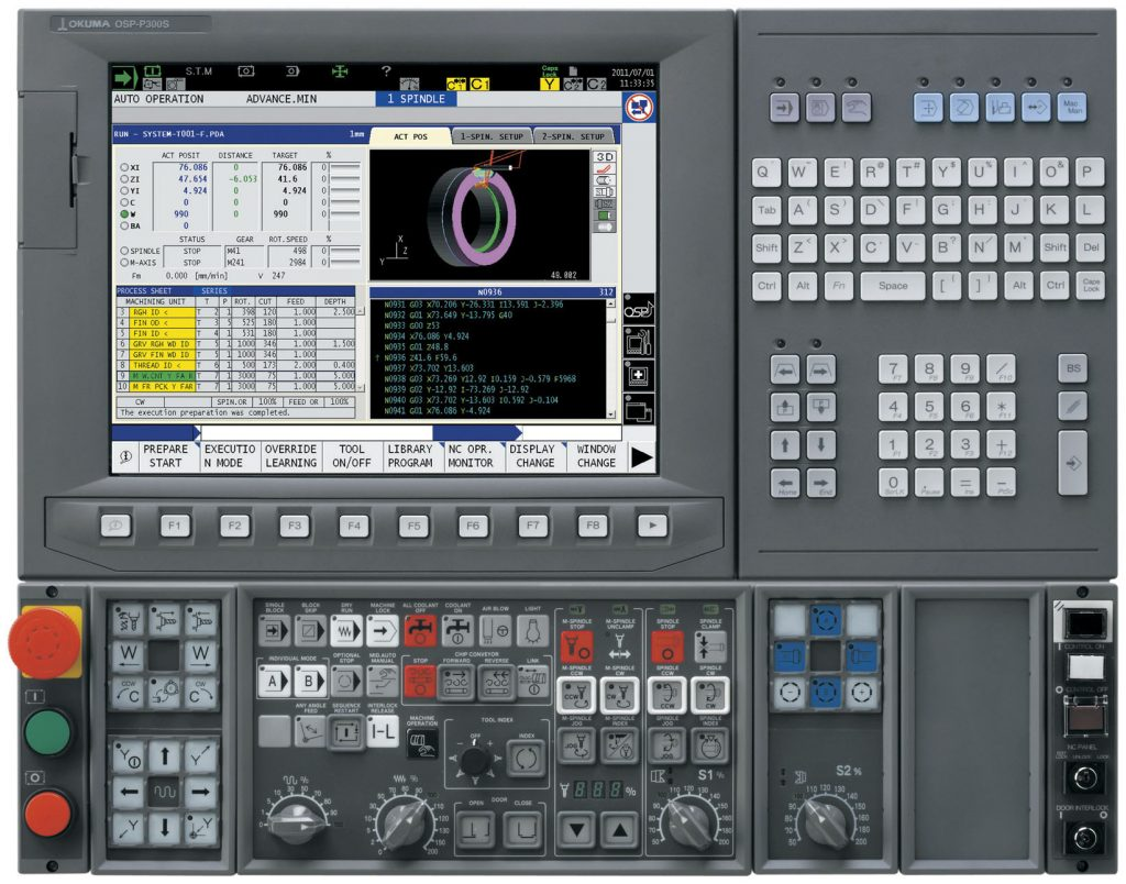 Comanda Numerică Okuma OSP-300S