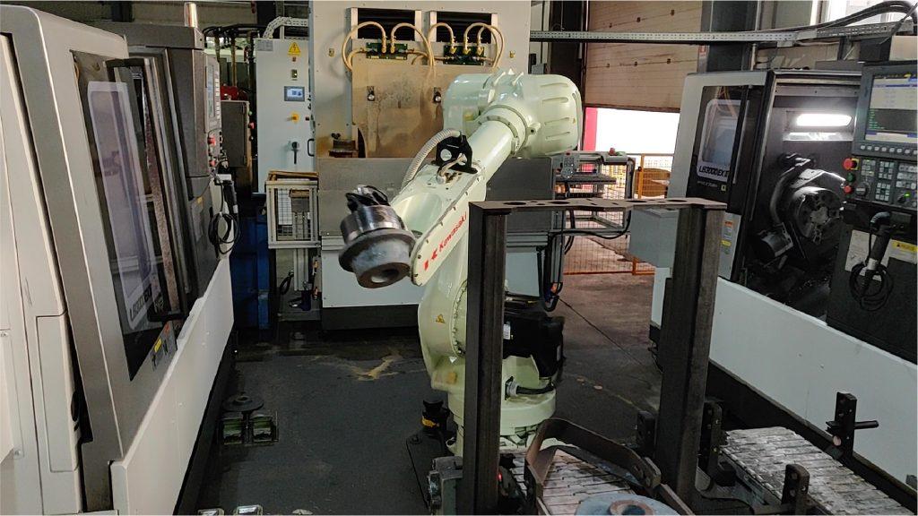 Celulă robot GreenBau - Prodima fig.1