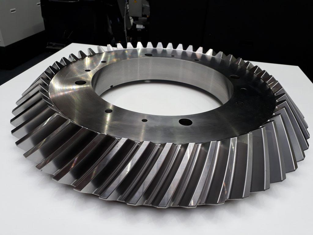 Piesă demo prelucrare pe strunguri  CNC verticale Okuma - V920EX