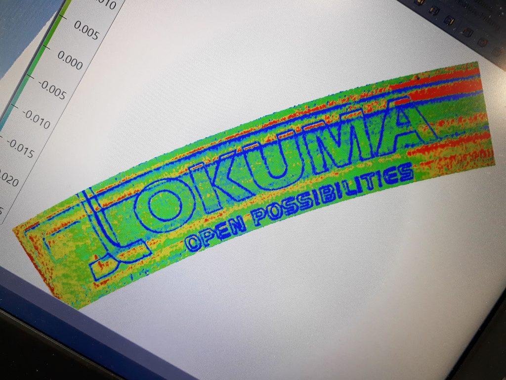Okuma Laser EX, Scanare detaliată a matriței - datele sunt trimise la mașina CNC