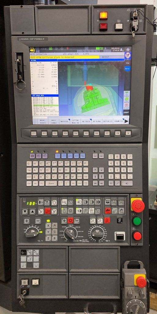 Comanda Numerică Okuma OSP-P300MA-H