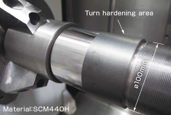 Okuma MU-6300V LASER EX - Tratamente termice