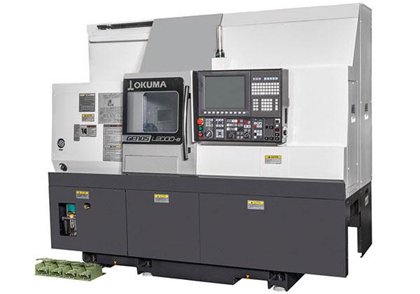 Strung CNC GENOS L2000-e cu frezare pe axa Y (opțiune)
