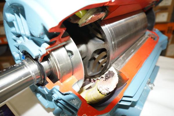 Motorul cu reluctanţa comutată fără înfăşurări pe rotor